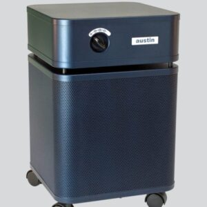 Austin Air HealthMate medical grade HEPA air cleaner blue