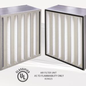 High volume HEPA metal frame
